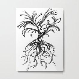Tree Berry Metal Print