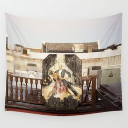 rooftop view::charleston Wall Tapestry
