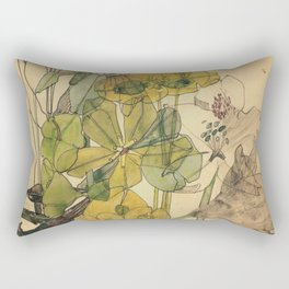 Spurge With Yham - Charles Rennie Mackintosh - 1909 Rectangular Pillow