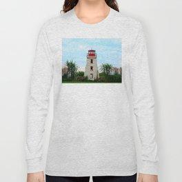 Garden Lighthouse Long Sleeve T-shirt