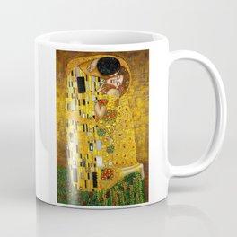 The Kiss Painting Gustav Klimt Coffee Mug