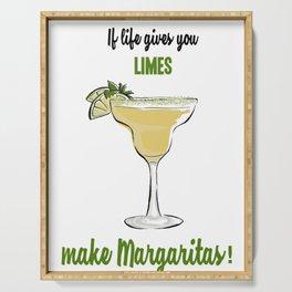 Margaritas Serving Tray