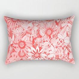 Red Gazanias Rectangular Pillow