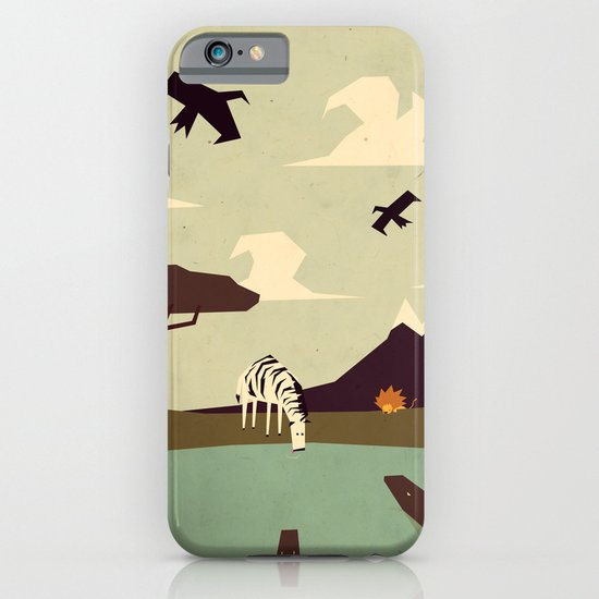 Z is for Zebra iPhone & iPod Case