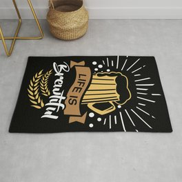 Life is Brewtiful | Beer Brewer Oktoberfest Rug
