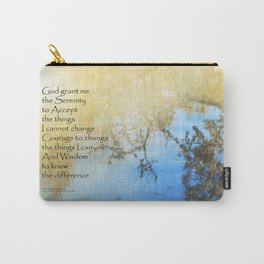 Serenity Prayer Pond Reflections Carry-All Pouch