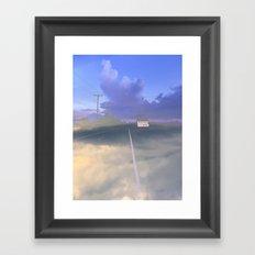 Clouded Mind Framed Art Print