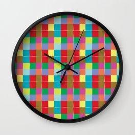 Wrapping Presents Wall Clock