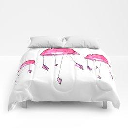 Geometric jellyfish Comforters