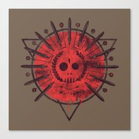 mars Canvas Prints featuring Mars by Hector Mansilla