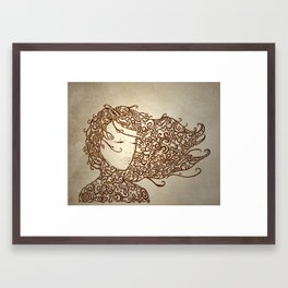 The Muses, No. 2 (Print Edition) Framed Art Print