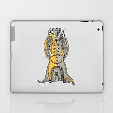 Yellow elephant Laptop & iPad Skin