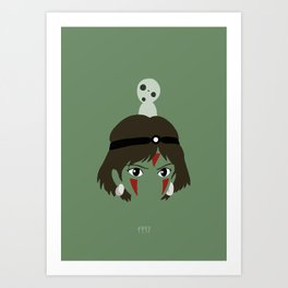 MZK - 1997 Art Print