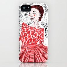 Red Dress iPhone (5, 5s) Slim Case