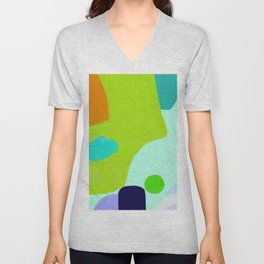 Islands and tide #15 Unisex V-Neck