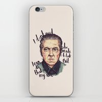 christopher walken iPhone & iPod Skins featuring Christopher Walken by Ella Betts