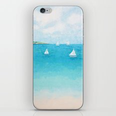 Baby Beach Sailboats iPhone & iPod Skin