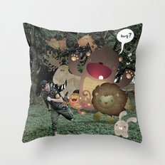 Zoophobia Throw Pillow