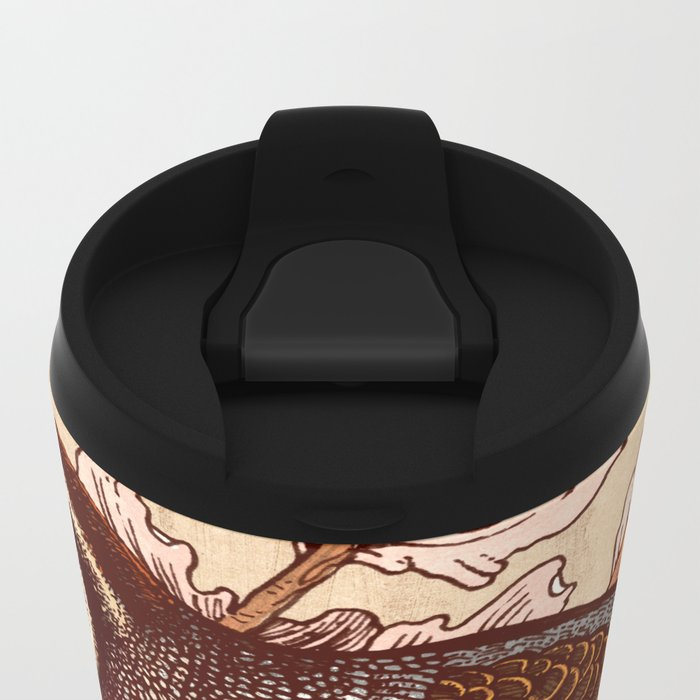 Little Quail Metal Travel Mug