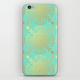 Elegance Golden Caramel iPhone Skin