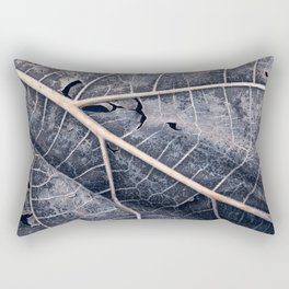 Organic Winter Decay Rectangular Pillow