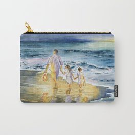 Summer Vacation Memory Carry-All Pouch