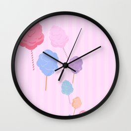 Cotton Candy Shop Wall Clock