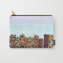 New York Purple Sky Carry-All Pouch