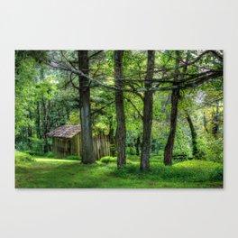Shifting Shanty Canvas Print