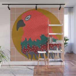 Electric Eagle Wall Mural