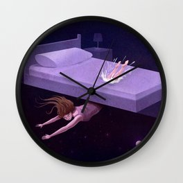 Astral Travel Wall Clock