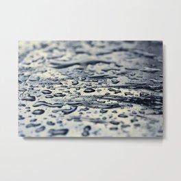 water blue Metal Print