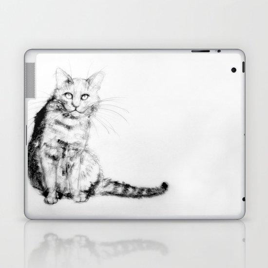 ちょっとしぶい猫 Laptop & iPad Skin