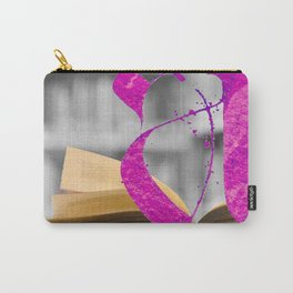 Letter A in the Library Carry-All Pouch
