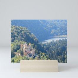 Schlöss Hohenschwangau Mini Art Print