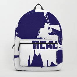 Real men explore caves cavers caves Backpack