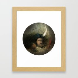 new moon revolution Framed Art Print