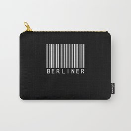 Funny Berlin Barcode Carry-All Pouch