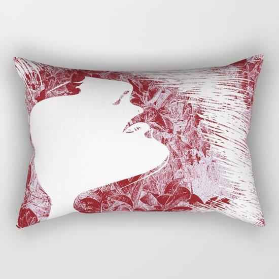 Sensuality, face Rectangular Pillow