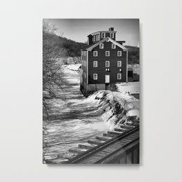 Potters Mill Metal Print