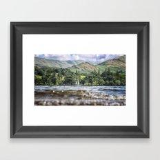 Water Level Framed Art Print