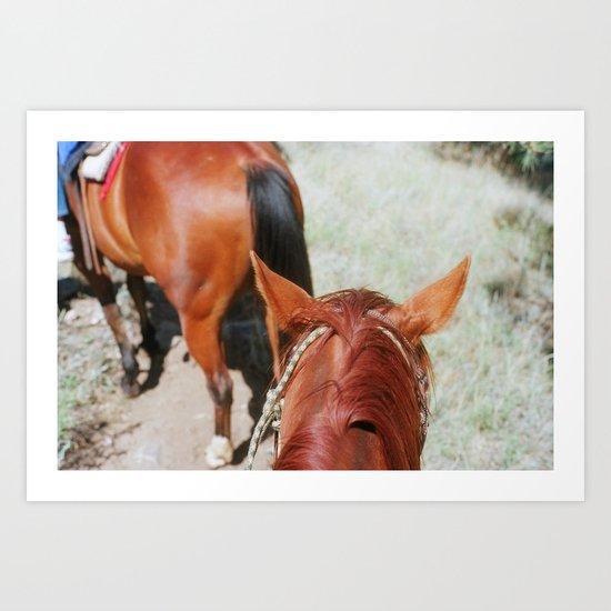 Ranch Time Art Print
