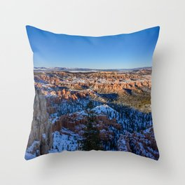 Bryce_Point 8448 - Bryce_Canyon_National_Park, Utah Throw Pillow