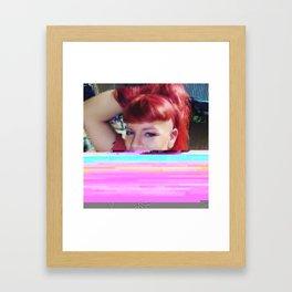 Mind Web Framed Art Print