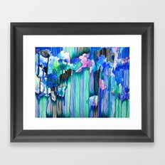 Cool Water Framed Art Print