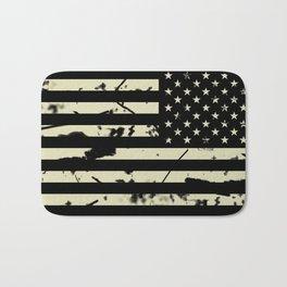 Distressed Tactical U.S. Flag Bath Mat