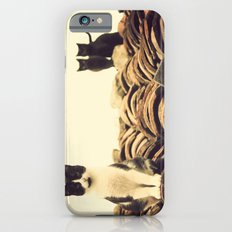 gatos en el tejado Slim Case iPhone 6s