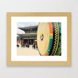 The royal drum Framed Art Print