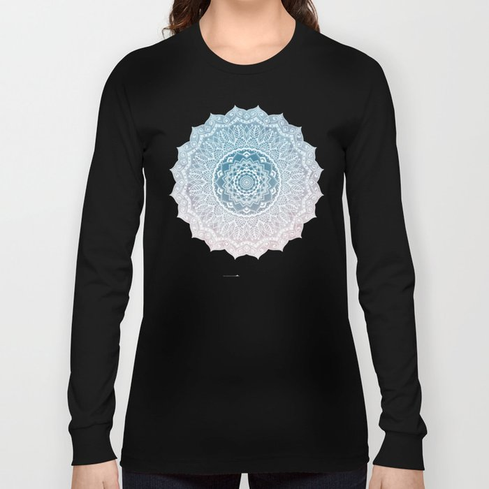 VINTAGE SPRING LACE MANDALA Long Sleeve T-shirt