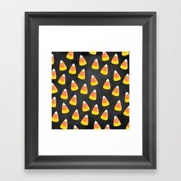 Candy Corn Mania Framed Art Print